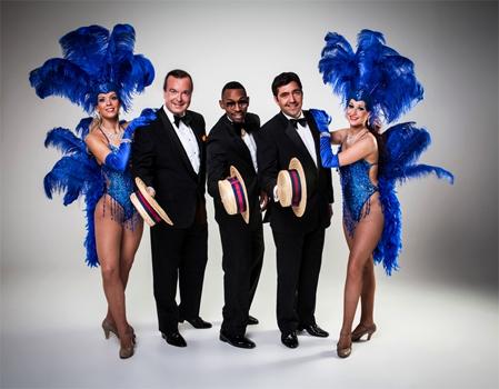 The Ultimate Rat Pack Tribute with The L.A Showgirls